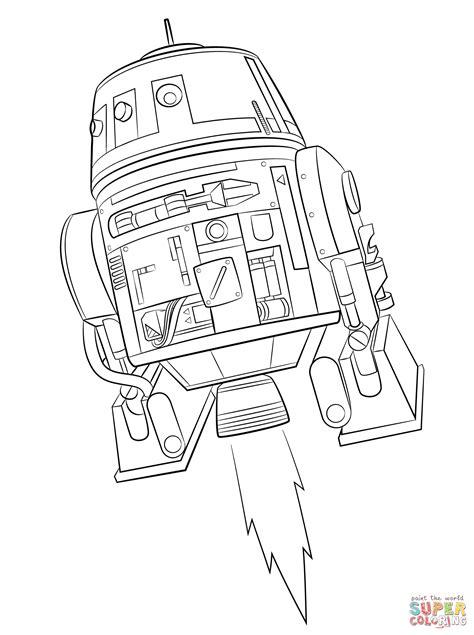 star wars rebels chopper coloring page  printable