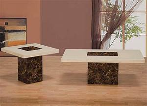 Coffee table set bm 902 contemporary for Modern coffee table and end table set