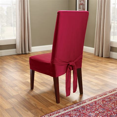 fit cotton duck dining room chair cover chair