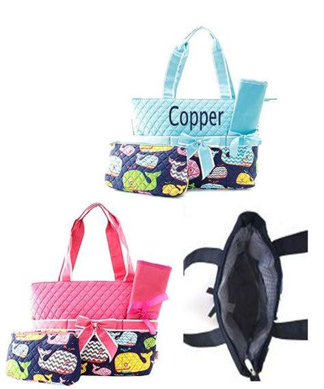 monogrammed whale diaper bag whale diaper bag diaper  momanme monogram diaper bag bags