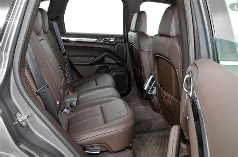 Cayenne Back Seat by Porsche Cayenne 2010 2017 Interior Autocar