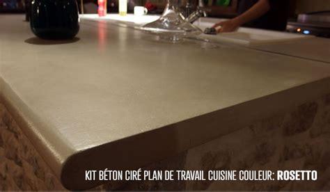 Couleur Béton Ciré Salle Bain by Beton Cir 233 Sur Plan De Travail Cuisine Avis