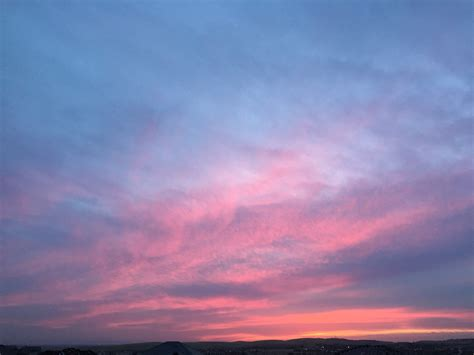 Just Before Dawn Blue Sky Sunset  El Dorado Sunset