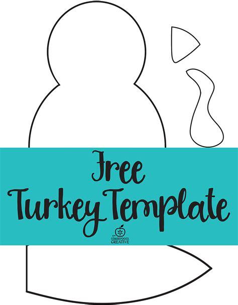 Turkey Math Template by Turkey Wattle Templates Happy Easter Thanksgiving 2018