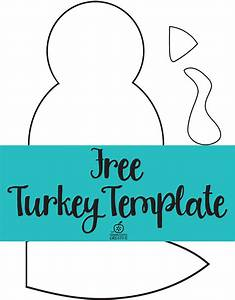 Turkey craft for kids for Free turkey template
