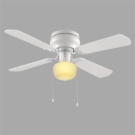 hton bay littleton 42 in white ceiling fan ub42s wh sh