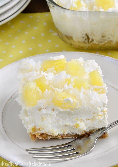 served   love  bake pineapple dream dessert