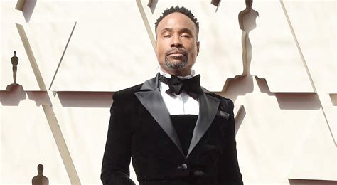 Oscars Billy Porter Arrives Christian Siriano