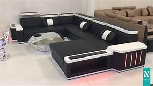 Sofa Mit Led Und Sound : nativo m bel schweiz designer sofa cesaro xxl mit led beleuchtung youtube ~ Orissabook.com Haus und Dekorationen