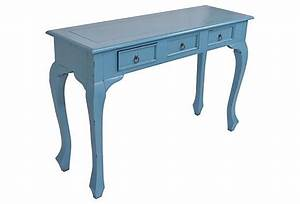 Erica Console Table, Blue on OneKingsLane com Home Decor