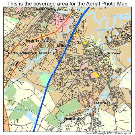 Resume Writing East Brunswick Nj by Aerial Photography Map Of East Brunswick Nj New Jersey
