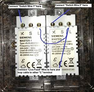 Electrical - How To Replace A Standard 2-gang Light Switch With An Electric Dimmer Switch