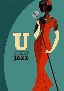 U Street Jazz.   Jazz   Jazz poster, Jazz artists, Art ...