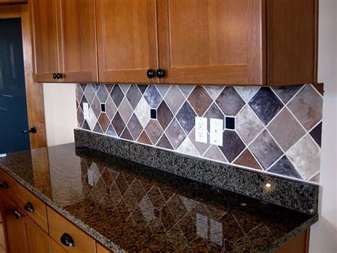 painted kitchen backsplash painted backsplash with faux tiles lots of exles of
