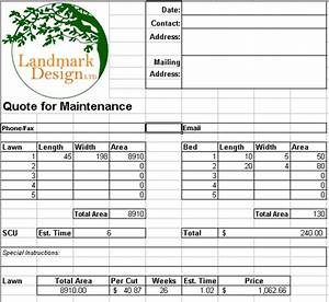 Lawn Care Service Agreement Samples Of Lawn Care Quotes Quotesgram