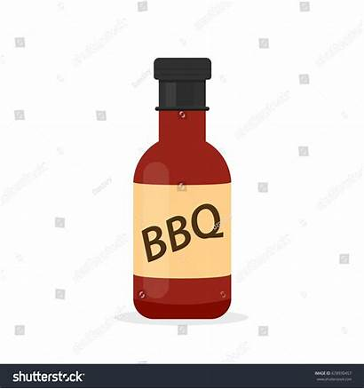 Clipart Barbeque Sauce Bbq Bottle Barbecue Clip