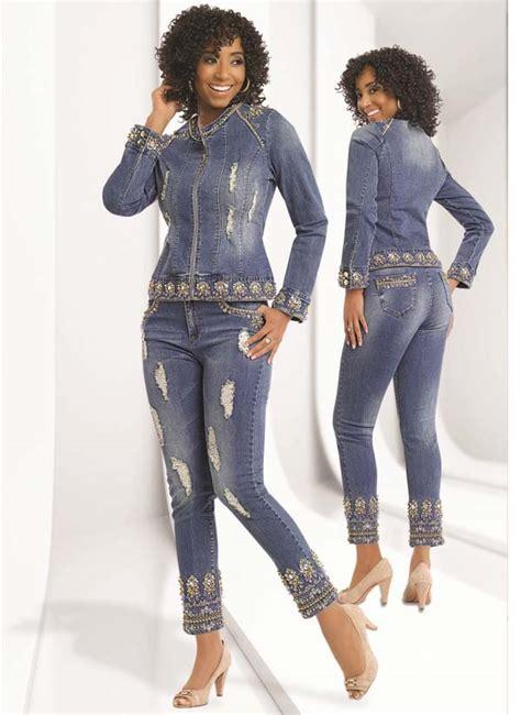 light blue denim jacket womens dv jeans denim pant suit by suit by donna vinci 8406