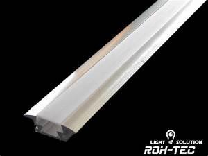 Led Strip Leiste : 1m alu profil fuge aluminium einbau leiste f r led streifen mit abdeckung ebay ~ Watch28wear.com Haus und Dekorationen