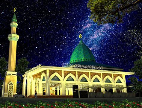 gambar masjid multidesain arsitek