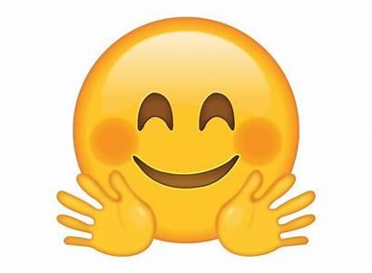 Emoji Hug Clipart Face Transparent Emotes Hugging