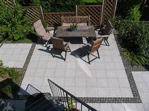 Terrasse Mit Granitplatten : granit terrasse mit basalt b nderung ~ Sanjose-hotels-ca.com Haus und Dekorationen