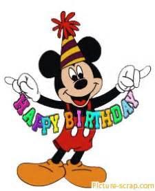 Mickey Mouse Geburtstag : glitter birthday wishes glitter graphics birth 227 x 278 25 kb gif credited happy birthday ~ Orissabook.com Haus und Dekorationen