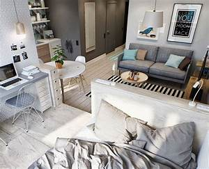 Wohnung Modern Einrichten : kleine wohnung modern und funktionell einrichten in 2019 i n t e r i o r d e s i g n pinterest ~ Eleganceandgraceweddings.com Haus und Dekorationen