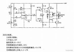 Temperature Regulation Circuit Diagram Used In Valve Control - Other Circuit