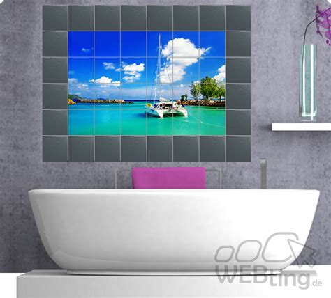 Badezimmer Fliesen Aufkleber by Fliesenaufkleber Fliesenbild Fliesen Aufkleber Sticker
