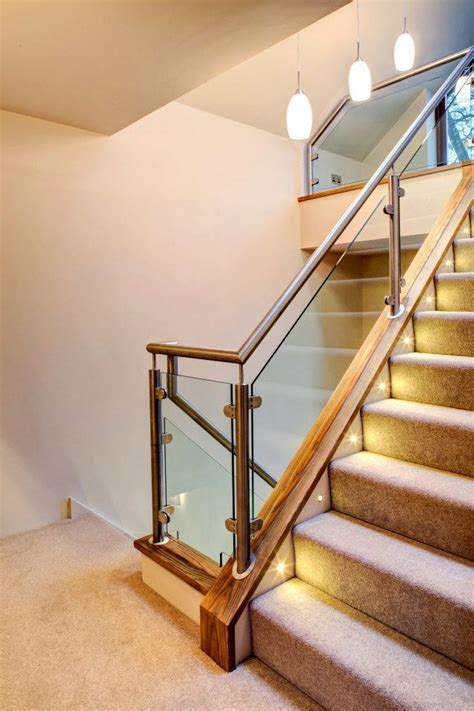 glass staircases nottingham lee glass  glazing