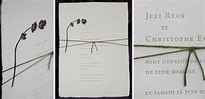 Pressed flower wedding invitation on handmade paper tiny for Wedding invitations with real flowers