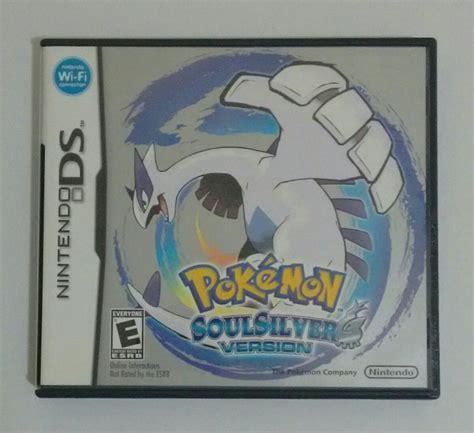 Pokemon Soul Silver Version Ds 3ds Impecvel R