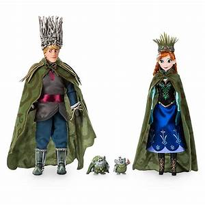 Eleven Paris Designer And Kristoff Troll Wedding Doll Set Frozen