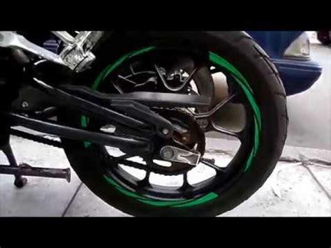 cre cintas reflectivas aros de motos pulsar yamaha