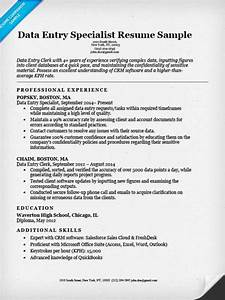 data entry clerk resume sample resume companion With data entry resume sample