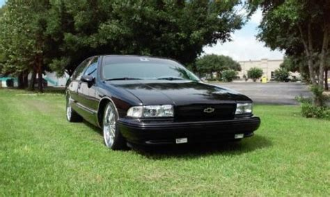 automobile air conditioning service 1994 chevrolet impala ss auto manual sell used 1994 chevrolet impala ss in ocala florida united states for us 6 500 00