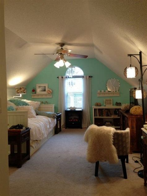 dreamy attic bedrooms interior  life