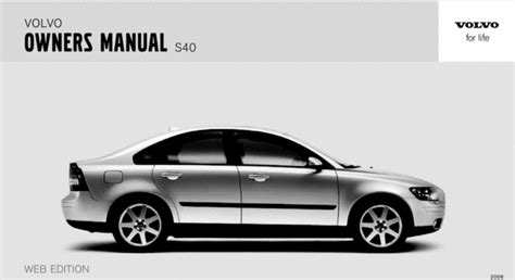 volvo   owners manual  manuals technical