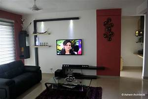 Sandhya39s 3bhk apartment interior designs in bangalore by for Interior ideas for 2 bhk flat