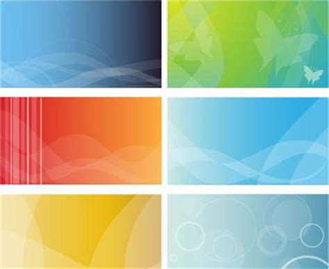 colorful business cards background  vector art