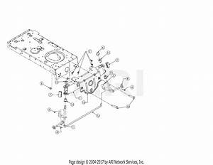 Troy Bilt 13an77bs011 Pony  2017  Parts Diagram For Pivot Bar