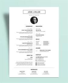 free minimalist resume designs free simple minimal layout resume cv design template psd file good resume