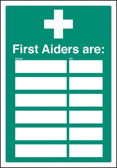 Custom Plastic Floor Mats by First Aiders Signs With A4 Printable Inserts Safetybuyer Com