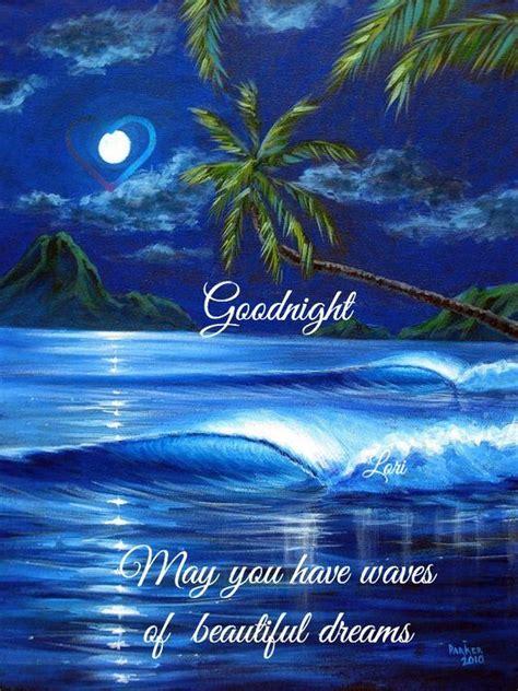 good night   thankful goodnight palmtrees waves