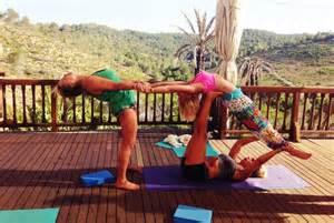 3 People Yoga Challenge