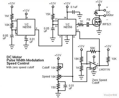 Pulse Width Modulation Pwm Motor Speed Controller
