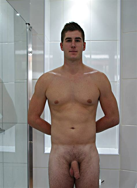 Boy Shows A Soft Dick And Big Ballsack - Nude Men Pictures