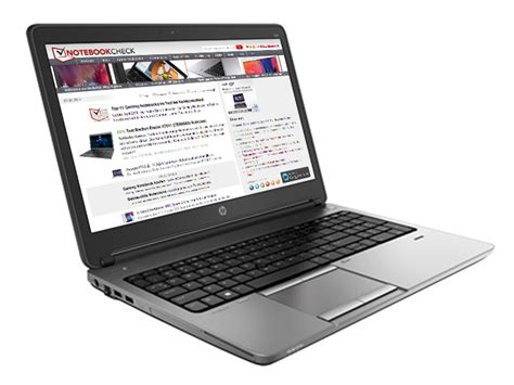 Review Update HP ProBook 655 G1 Notebook - NotebookCheck