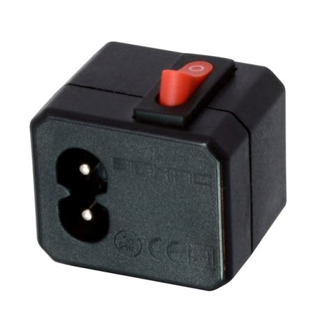 in line l switch iec c8 c7 fig 8 in line switch from lindy uk
