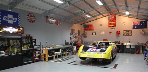 Timer Garage Brisbane by Cave Garage Brisbane Shedzone